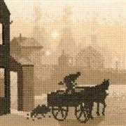 Heritage The Coalman - Aida Cross Stitch Kit