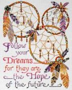 Design Works Crafts Dreamcatchers Cross Stitch Kit