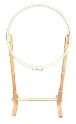 Elbesee Floor Stand with 21 inch Hoop Embroidery Hoop
