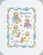 Someone New Baby Quilt - Dimensions Cross Stitch Kit