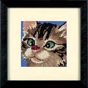 Dimensions Cross-Eyed Kitty Tapestry Kit