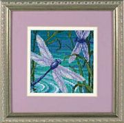 Dragonfly Pair - Dimensions Tapestry Kit