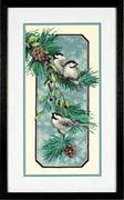 Chickadees on a Branch - Dimensions Cross Stitch Kit