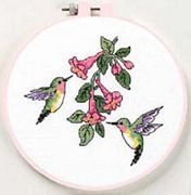 Hummingbird Duo - Dimensions Cross Stitch Kit