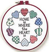 Home and Heart - Dimensions Cross Stitch Kit
