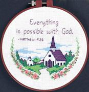 Dimensions Everything Is Possible Cross Stitch Kit