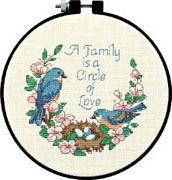 Family Love - Dimensions Cross Stitch Kit