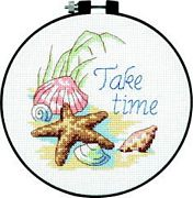 Take Time - Dimensions Cross Stitch Kit