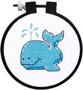 The Whale - Dimensions Cross Stitch Kit