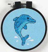 Dolphin Delight - Dimensions Cross Stitch Kit