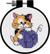 Cute Kitty - Dimensions Cross Stitch Kit