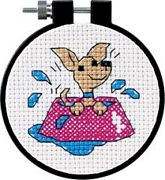 Perky Puppy - Dimensions Cross Stitch Kit