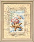 Shells in the Sand - Dimensions Cross Stitch Kit