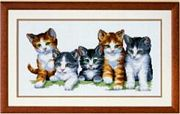 Kittens - Vervaco Cross Stitch Kit