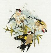 Derwentwater Designs Goldfinches and Thistles