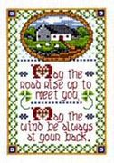 Celtic Wind (Blessing) - Design Works Crafts Cross Stitch Kit