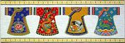 Kimono Row - Design Works Crafts Cross Stitch Kit