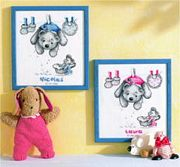 Vervaco Baby Laundry Birth Sampler Cross Stitch Kit