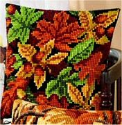 Vervaco Autumn Leaves Cross Stitch Kit