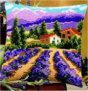 Vervaco Lavender Fields Cross Stitch Kit