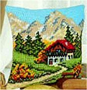 Vervaco Mountain Scene Cross Stitch Kit