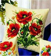 Poppies - Vervaco Cross Stitch Kit