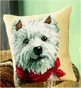 Vervaco Westie Dog Cross Stitch Kit