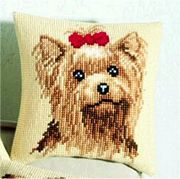 Vervaco Yorkshire Terrier Cross Stitch Kit