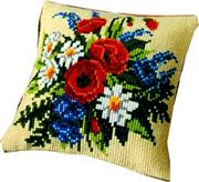 Vervaco Floral Arrangement Cross Stitch Kit