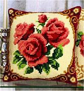 Vervaco Red Roses Cross Stitch Kit