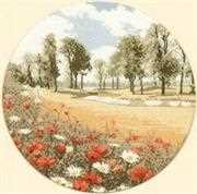 Summer Meadow - Aida - Heritage Cross Stitch Kit