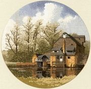 Heritage Water Mill - Aida Cross Stitch Kit