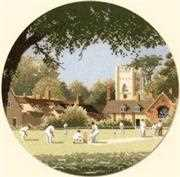 Heritage Sunday Cricket - Aida Cross Stitch Kit