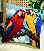 Vervaco Parrots Cross Stitch Kit