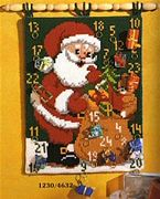 Vervaco Santa Cross Stitch Kit