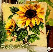 Sunflowers - Vervaco Latch Hook Kit