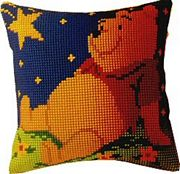 Vervaco Winnie at Night Cushion Cross Stitch Kit