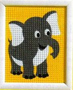 Elephant - Vervaco Tapestry Canvas