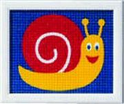 Snail - Vervaco Tapestry Canvas