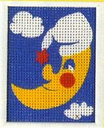 Bedtime Moon - Vervaco Tapestry Canvas