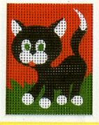Cat - Vervaco Tapestry Canvas