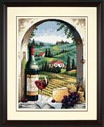 Tuscan View - Dimensions Tapestry Kit