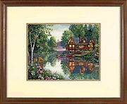Cabin Fever - Dimensions Cross Stitch Kit