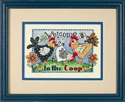 Welcome To The Coop - Dimensions Cross Stitch Kit