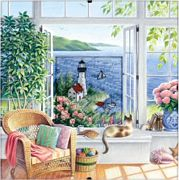 Beach Tranquility - Dimensions Cross Stitch Kit