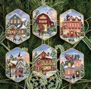 Dimensions Christmas Village Ornaments