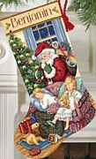 Sweet Dreams Stocking - Dimensions Cross Stitch Kit