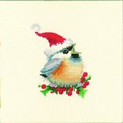 Christmas Chick - Aida - Heritage Cross Stitch Kit