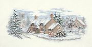 Derwentwater Designs Holly Lane Christmas Cross Stitch Kit
