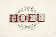 Derwentwater Designs Noel Cross Stitch Kit